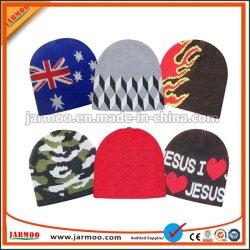 L'acrylique hiver Knit Beanie Hat chapeaux de femmes Beanie personnalisé