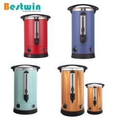 Comercial de Cor Personalizado Provisões de aço inoxidável urna de café da caldeira de água quente eléctrico