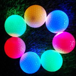 Balle de Golf La nuit brillant LED pour les sports de plein air Gadget