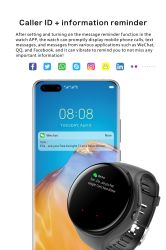 Спорт аудио Smartwatch Bluetooth Stereo активного шумоподавления Smart смотреть наушники