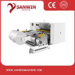 Alta velocidade Rótulo Automático Não Tecido plástico filme PE BOPP CPP PVC Pet Rolo jumbo papel máquina de corte longitudinal