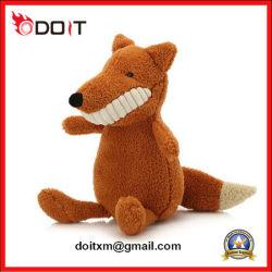 Un grand sourire mignon jouet en peluche de grandes dents Fox Animal