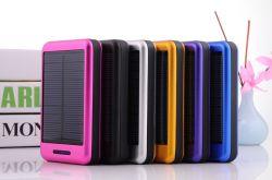 10000mAh de draagbare Batterij van de Telefoon van de Cel Zonne Mobiele Lader