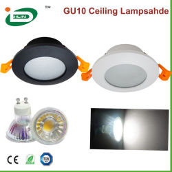 GU10 MR16 COB LED Downlights Fixture 5W 6W 7W Modern Strahler mit GU10 LED-Glühlampe