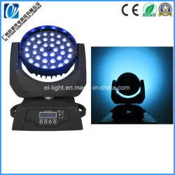 36 LED de PCS DMX despedidas de Lavagem do feixe de movimentação de Spot LED de luz da lâmpada LED