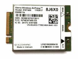 4G de Kaart van Lte Wwan voor Siërra Draadloze Airprime Em7455 Gobi6000 voor Lenovo Thinkapd X270 T470 T470s T470p P51 P71 Sw10K97524