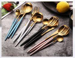 Cuillère à couteau en acier inoxydable vaisselle