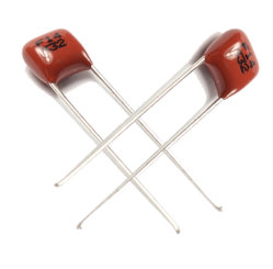 Cl21 miniatura Polyester Film Capacitor 332j