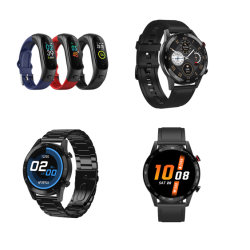 A última Smartwatch Rastreador Fitness Mini-banda inteligente bracelete inteligente assista à prova Bandsmart para Dom /Pulso/Digital/Fashion/relógios/Br Sport Vigilância inteligente