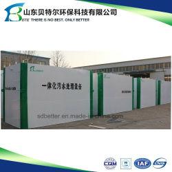 Planta de tratamiento de aguas residuales de tipo contenedor Tipo de paquete