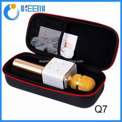Ls-Q7 mini portátil inalámbrico Bluetooth de Karaoke profesional el micrófono de condensador
