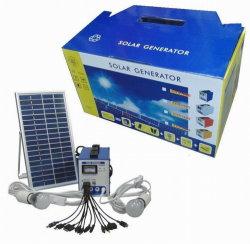 20W太陽ホームエネルギー・システム、照明のための太陽電池パネルのパワー系統