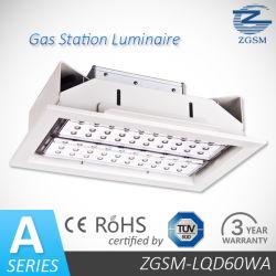 CE/ROHS/FCC を搭載した高性能、高出力 60W LED 埋込型ライト