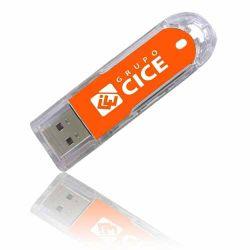 محرك أقراص USB محمول منزلق قرص فلاش بلاستيكي USB 2.0