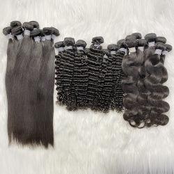 Raw Cuticle Ausgerichtet Haar, Virgin Human Hair Weave Bundles Lieferanten, Nerz Brasilianische Haar Unverarbeitete Virgin Hair Bulk Großhandel