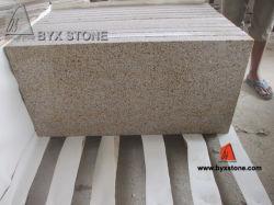 Tuiles martelées par Bush jaunes rouillées de granit de Zhangpu G682