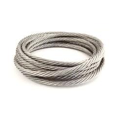 0.3-10mm cable metálico de acero inoxidable 1*7*7*19 Cable de acero