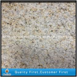 Piastrelle di granito giallo Shandong con martelli per pavimenti in legno quadrato