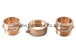 Medidor de água combinação ficha de bronze as conexões de junta do tubo de Latão