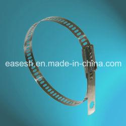 Multi fascette ferma-cavo della serratura ss della sbavatura della scaletta