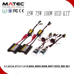 Kit automobile 35/5512/24 V W 6000K/8000k Xenon HID H7 9007 H4 Lampe au xénon HID Hi Lo