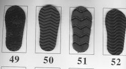 Muchos de EVA de Color suela de zapatos de zapatillas