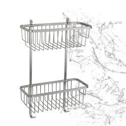 잘 고정된 목욕탕 부속품, 샤워 바구니를 위한 내구성 겹켜 스테인리스