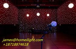 단계 조명 효과에 있는 LED 전구를 가진 베스트셀러 천장 별 커튼 빛