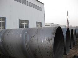 Tubo d'acciaio saldato nero di ERW /SSAW