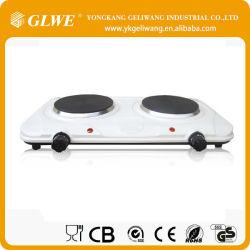 2000W - белый цвет моды дизайн электрический двойной нагреваемую пластину