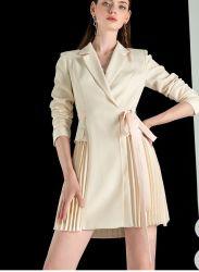 2021 여성용 비즈니스 정장 뉴 패션 기질 우아한 긴 스커트 여성 드레스를 위한 정장
