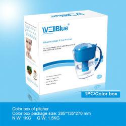 アルカリ水(pH: 8.5-10.4、ORP -150mvに300mv)