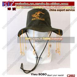 Chapeau de fête bouchon liège australien promotionnel Hat cadeau d'affaires Souvenir Hat coiffure (C2002)