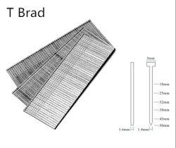 16gaによって電流を通されるT Bradの釘