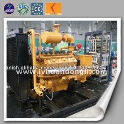 Зеленый индикатор питания промышленного используется 180квт природный газ электрический генератор