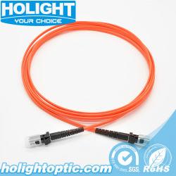Om1 multimode en duplex MTRJ MTRJ à 2.0mm câble de raccordement de fibre optique