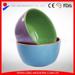 Comercio al por mayor de 2 tonos Cuenco de cerámica de colores