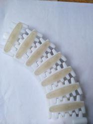 Paleta plana de la correa transportadora de plástico flexible Multiflex cadena Top