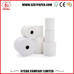 55GSM POS Branco alta papel térmico de polpa de madeira