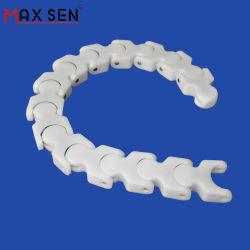 POM tablillas de plástico de la cadena de la cinta transportadora/Cadena Multiflex