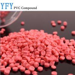 Barato preço novo composto de PVC isolados e PVC maleável grânulo de fio e a bainha do cabo