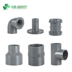 Водоснабжение DIN PN10 20мм до 400мм из ПВХ трубы фитинг с помощью резинового уплотнительного кольца