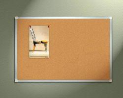 사무실에서 사용되는 고시 Corkboard