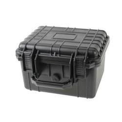 Cassa di strumento impermeabile di plastica della cassetta portautensili con gomma piuma