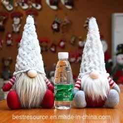 van 15*26cm van de Pluche van het Speelgoed van Kerstmis Anonieme Oude van de Mens van Doll Nordic Table Decorations Kinderen gift-201925 van Rudolph Gnomes