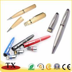 Metal y plástico y madera para USB Pen Drive USB