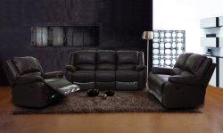 Mobiliario de casa Sala de juegos de sofá reclinable de cuero