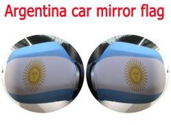 Personnalisé de haute qualité de l'impression cache miroir de voiture drapeau du pays