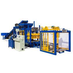 Automatischer konkreter Höhlung-Straßenbetoniermaschine-Ziegelstein-Formteil-Maschinen-Ziegelstein-Block des Kleber-Qt4-16, der Maschinen-Preis bildet