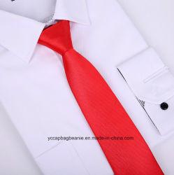 昇進のジッパー純粋なカラーネクタイ